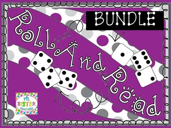 Roll and Read VOWEL VARIANTS-Expanding Bundle! EIGHT WEEKS of activites!!
