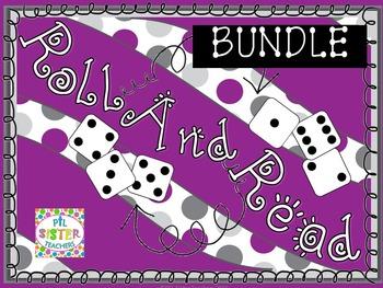 Roll and Read VOWEL VARIANTS-Expanding Bundle! EIGHT WEEKS