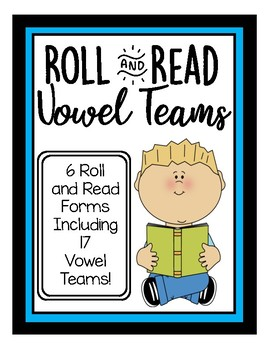 Roll and Read Vowel Teams