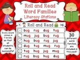 Roll and Read Word Families (120 Differentiated Ready to G