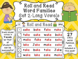 Long Vowels with Silent E Reading Fluency Centers