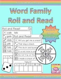 Roll and Read Word Families: Short A Families