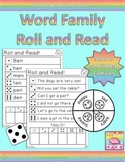 Roll and Read Word Families: Short E and I Families CVC Wo