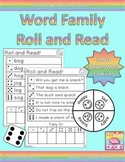 Roll and Read Word Families: Short Vowel Bundle