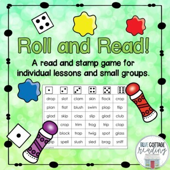 Roll and Read - A No Prep Reading Game