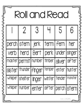 Roll and Read er