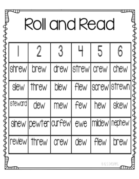 Roll and Read ew