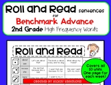 Roll and Read Sentences for 2nd Grade Benchmark Advance High Frequency Words