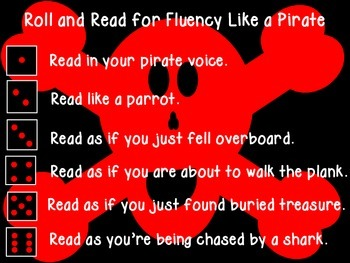 Roll and Read for Fluency Like a Pirate