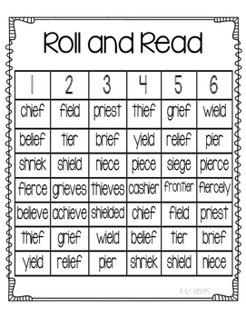 Roll and Read ie