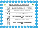 Roll and Read Fluency in Spanish