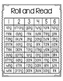 Roll and Read -ng and -nk endings