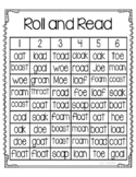 Roll and Read oa and oe