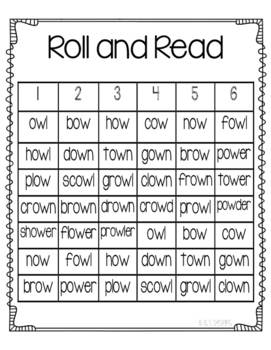 Roll and Read ow