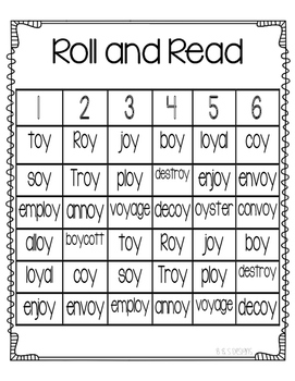 Roll and Read oy