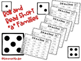 "Roll and Read Short ""a"" Word Families"