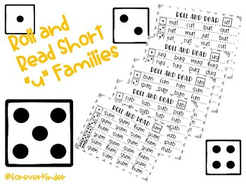 "Roll and Read Short ""u"" Word Families"