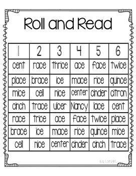 Roll and Read soft c