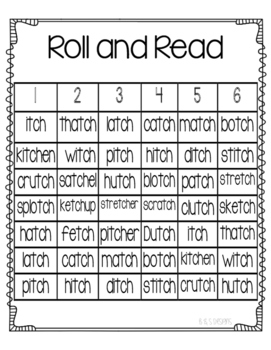 Roll and Read tch