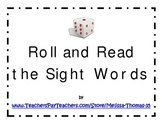 Roll and Read the Sight Words