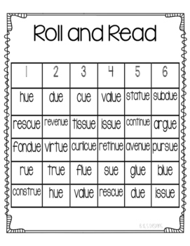 Roll and Read ue