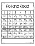 Roll and Read y as a vowel