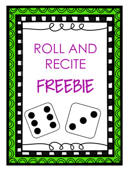 Roll and Recite Free