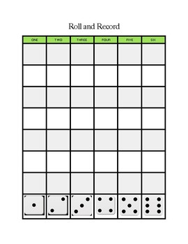 Roll and Record Graph