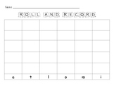 Roll and Record Lowercase Letters