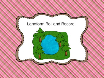 Roll and Record Math Center Landform