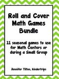 Roll and Record Math Games Bundle