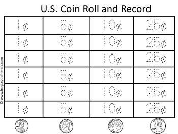Roll and Record U.S. Coins