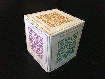Roll and Reflect with QR Codes