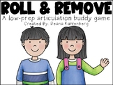 Roll and Remove {An Articulation Buddy Game}