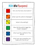 Roll and Respond Reading Activity