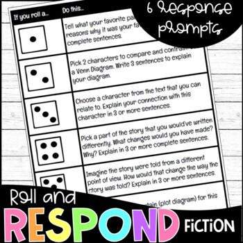 Roll and Respond Fiction Response