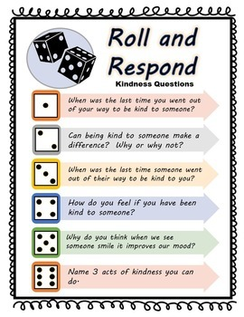 Roll and Respond Icebreakers