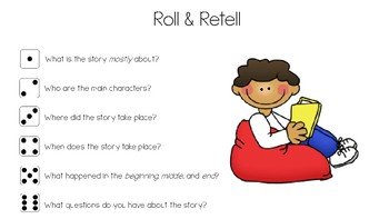 Roll and Retell Game