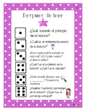 Roll and Retell - Spanish and English