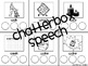 Roll and Say CVC's: Using early, initial sounds in /K/ fin
