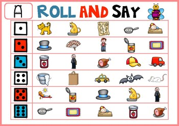 Roll and Say Cvc Short Vowels
