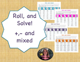 Roll and Solve Addition and Subtraction