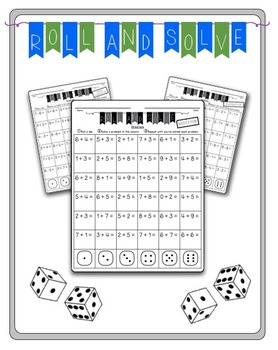 Roll and Solve- Addition and Subtraction Facts