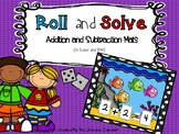 Roll and Solve-Addition and Subtraction Mats