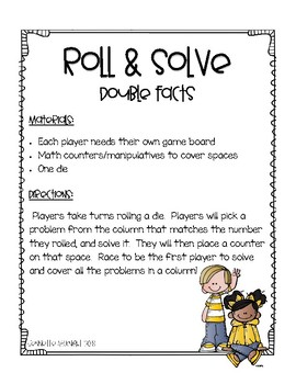 Roll and Solve Doubles