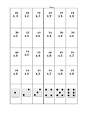Roll and Solve Multiplicaiton      2 digt by 1 digit