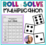 Roll and Solve Multiplication
