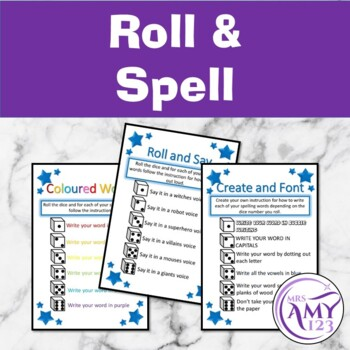 Roll and Spell