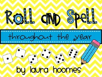 Roll and Spell Throughout the Year