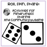 Roll and Respond Activities- for in person and virtual learners.